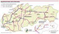 Cesty SK - kilometrovník